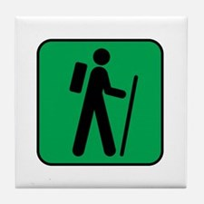 Hiking Hiker Sports Tile Coaster