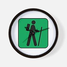 Hiking Hiker Sports Wall Clock