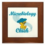 Microbiology Framed Tiles