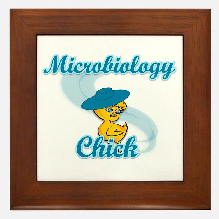 Microbiology Chick #3 Framed Tile