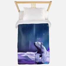 Contemplative Polar Bear Twin Duvet