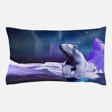 Contemplative Polar Bear Pillow Case