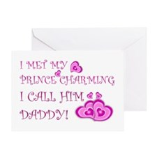 Daddy is prince charming.png Greeting Card