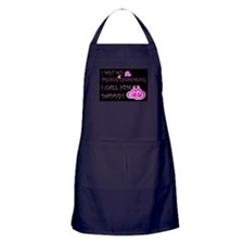 Daddy is prince charming.png Apron (dark)