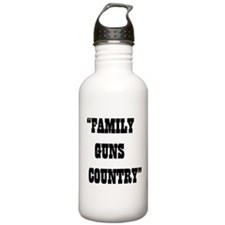 FAMILY GUNS COUNTRY Water Bottle