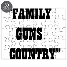 FAMILY GUNS COUNTRY Puzzle