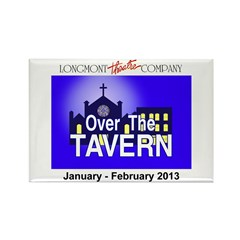 Over The Tavern Rectangle Magnet