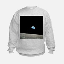Earthrise over Moon, Apollo 8 - Sweatshirt