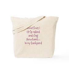 Showtunes Tote Bag