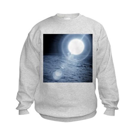 Sunrise over the Moon - Kids Sweatshirt