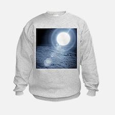 Sunrise over the Moon - Sweatshirt