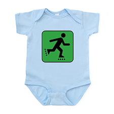 RollerBlade Skates Rollerblading Infant Bodysuit