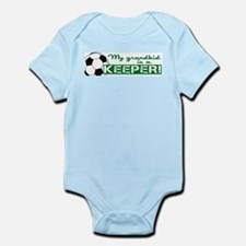 Proud grandparent of a soccer goalkeeper Infant Bo