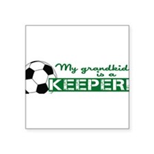 Proud grandparent of a soccer goalkeeper Square St