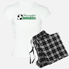 Proud grandparent of a soccer goalkeeper Pajamas
