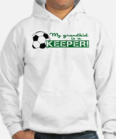 Proud grandparent of a soccer goalkeeper Hoodie