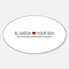 AL QAEDA.bmp Sticker (Oval)