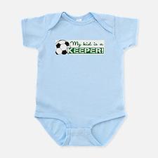 Proud Goalkeeper Parent Infant Bodysuit