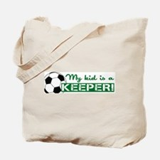 Proud Goalkeeper Parent Tote Bag
