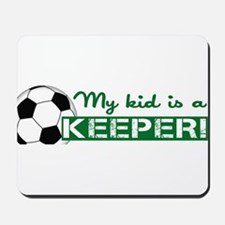 Proud Goalkeeper Parent Mousepad