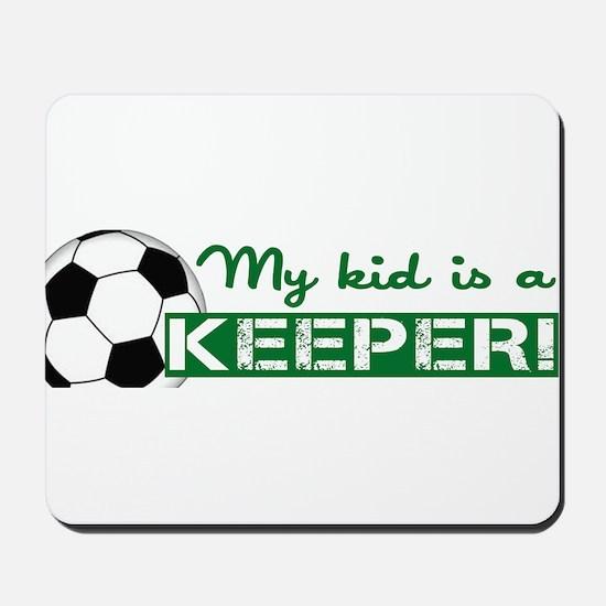 Proud Goalkeeper Parent Mousepad