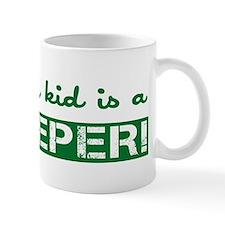 Proud Goalkeeper Parent Mug