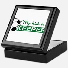 Proud Goalkeeper Parent Keepsake Box