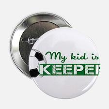 """Proud Goalkeeper Parent 2.25"""" Button"""
