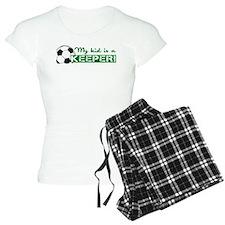 Proud Goalkeeper Parent Pajamas