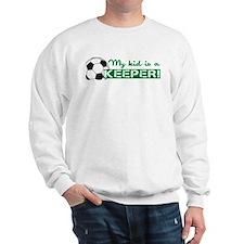 Proud Goalkeeper Parent Sweatshirt