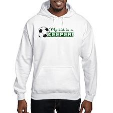 Proud Goalkeeper Parent Jumper Hoody