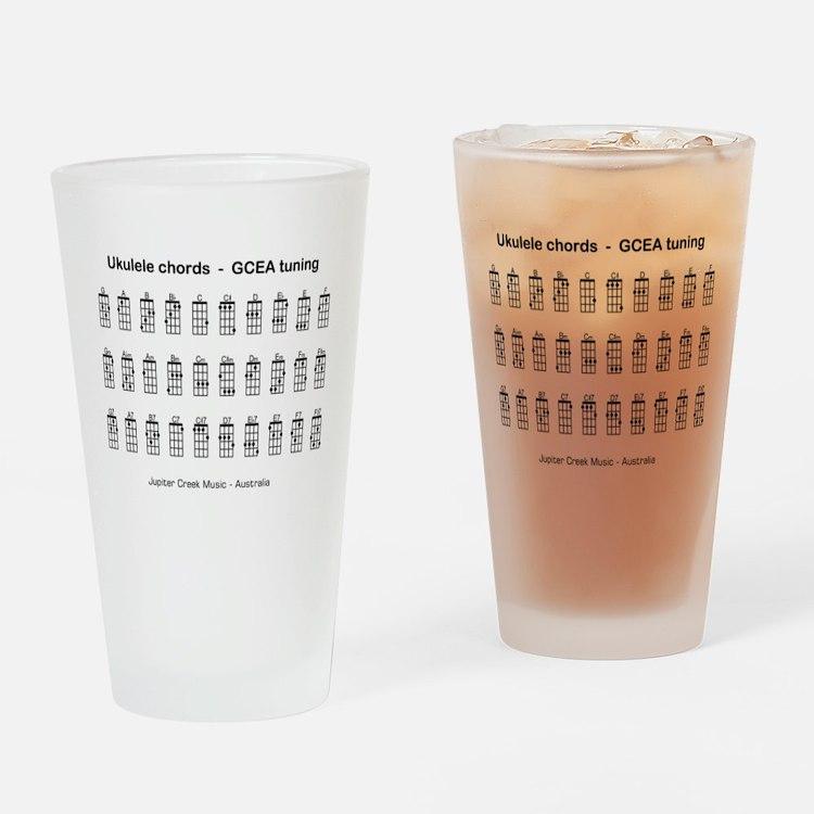 Cute Chord Drinking Glass