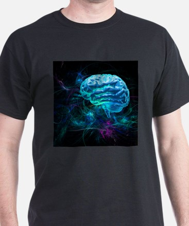 Brain research, conceptual artwork - T-Shirt
