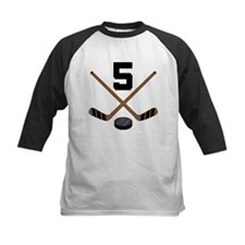 Hockey Player Number 5 Tee