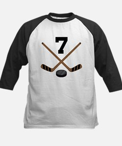 Hockey Player Number 7 Tee