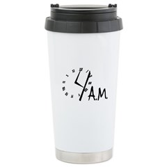 4am Stainless Steel Travel Mug