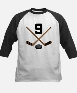 Hockey Player Number 9 Tee