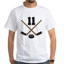 Hockey Player Number 11 Shirt