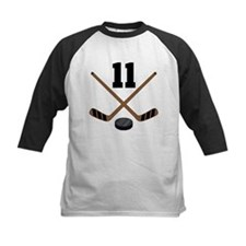 Hockey Player Number 11 Tee