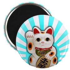 Lucky Cat (Maneki-neko) Magnet
