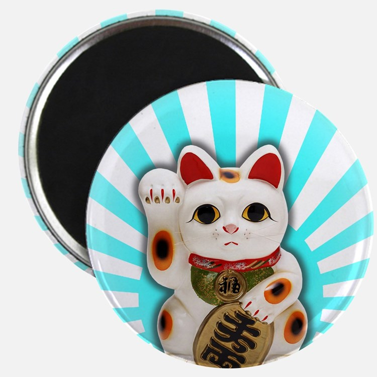 Lucky Cat (Maneki-neko) Magnet