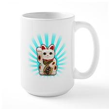 Lucky Cat (Maneki-neko) Mug