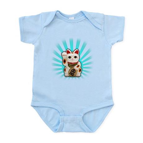 Lucky Cat (Maneki-neko) Infant Bodysuit