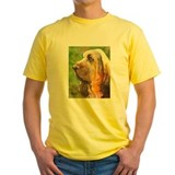 Bloodhound Mens Classic Yellow T-Shirts