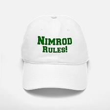 Nimrod Rules! Baseball Baseball Cap