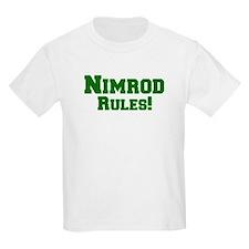 Nimrod Rules! Kids T-Shirt