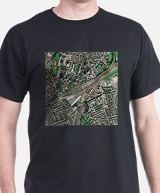 Clapham Junction station, aerial image - T-Shirt