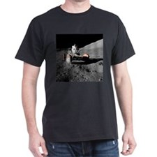Eugene an on Lunar Rover, Apollo 17 - T-Shirt