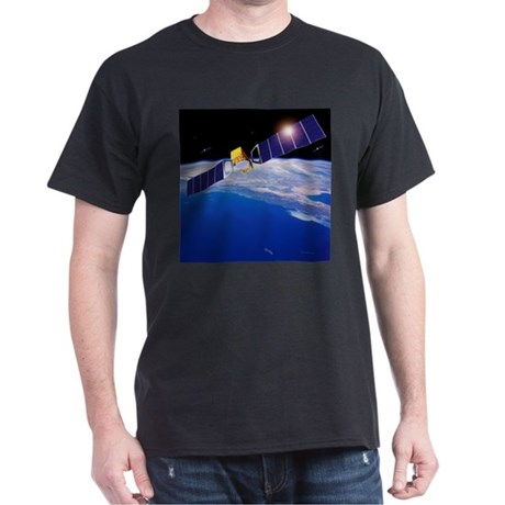 Galileo navigation satellites - Dark T-Shirt