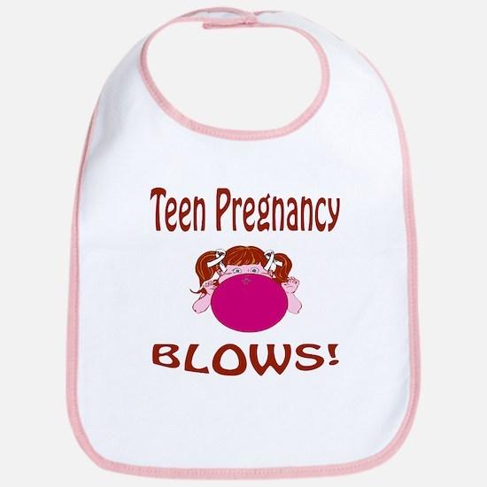 Teen Pregnancy Blows! Bib